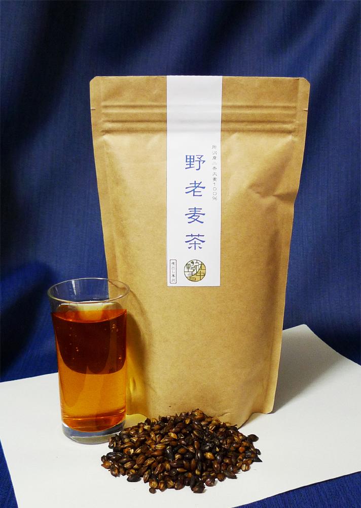まろやかな甘みの「野老麦茶」