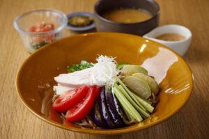 夏野菜の冷やし中華